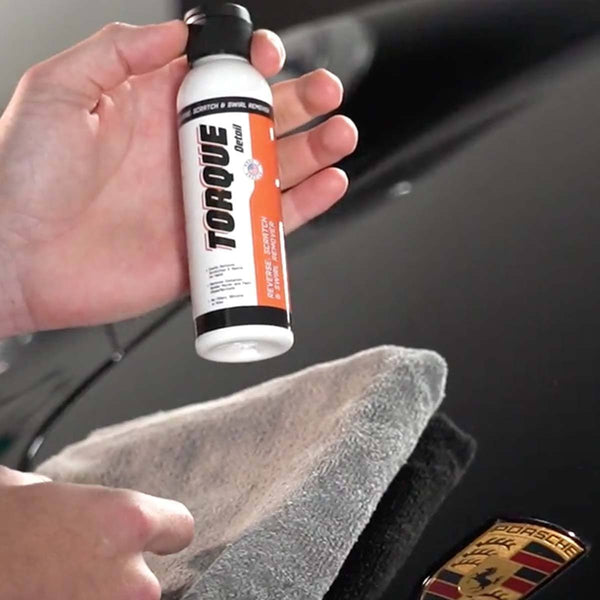 Reverse: Car Scratch Remover, Water Spot Remover & Swirl Repair - All-In-One Paint Correction Compound (4oz Bottle) Torque Detail