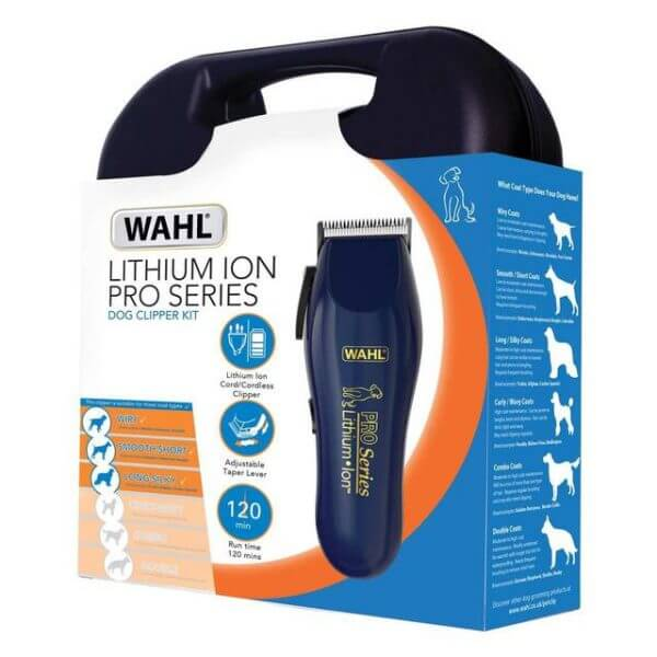 WAHL PRO RECHARGABLE CLIPPER C/W KIT
