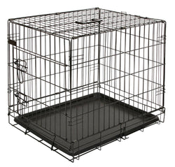 DOG CAGE COLLAPSIBLE & MAT 63X48X57cm