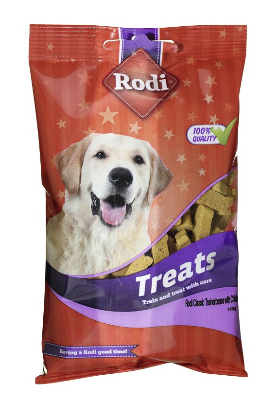 RODI TREAT TRAINING BONE MIX with POULTRY 150g