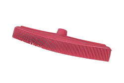 Salon Floor Brush Rubber Head C/W Ext Handle