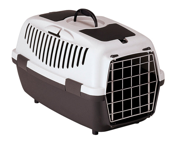 Pet Travel Box Med Gulliver - Grey