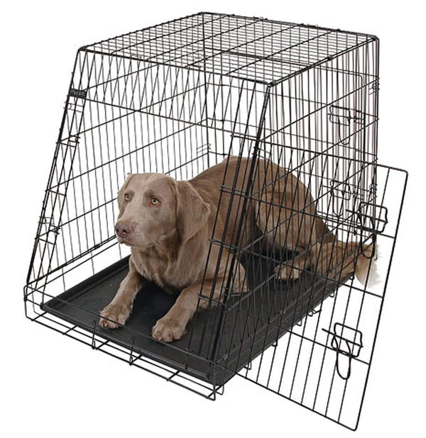 DOG CAGE COLLAPSIBLE & MAT