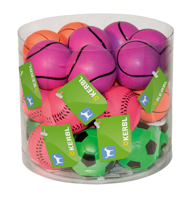 Neon Ball Assorted Pkt 24