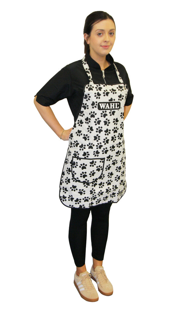 Wahl Paw Print Grooming Apron One Size Fits All