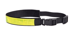 Collar Reflective Black Nylon