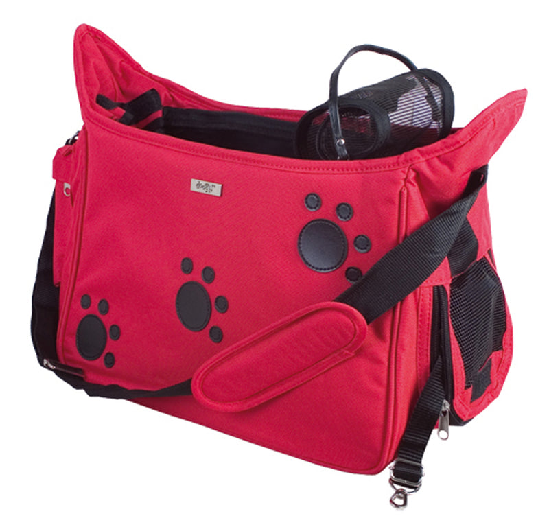 Paws Soft Groomers Carry Bag Red 42 X 21 X 25cm