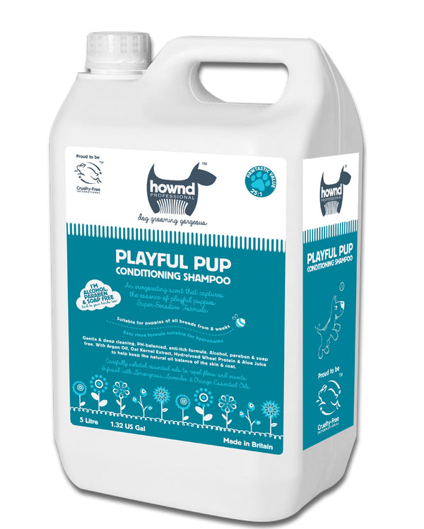Hownd Playful Pup Pro Conditioning Shampoo 5lt
