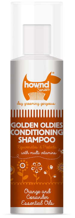 Hownd Golden Oldies Natural Conditioning Shampoo 250ml