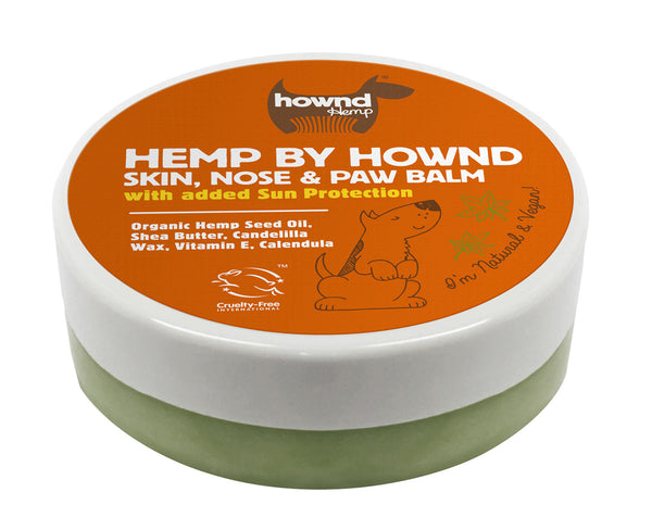 Hownd Hemp Skin,Nose & Paw Balm With Sun Screen 50g