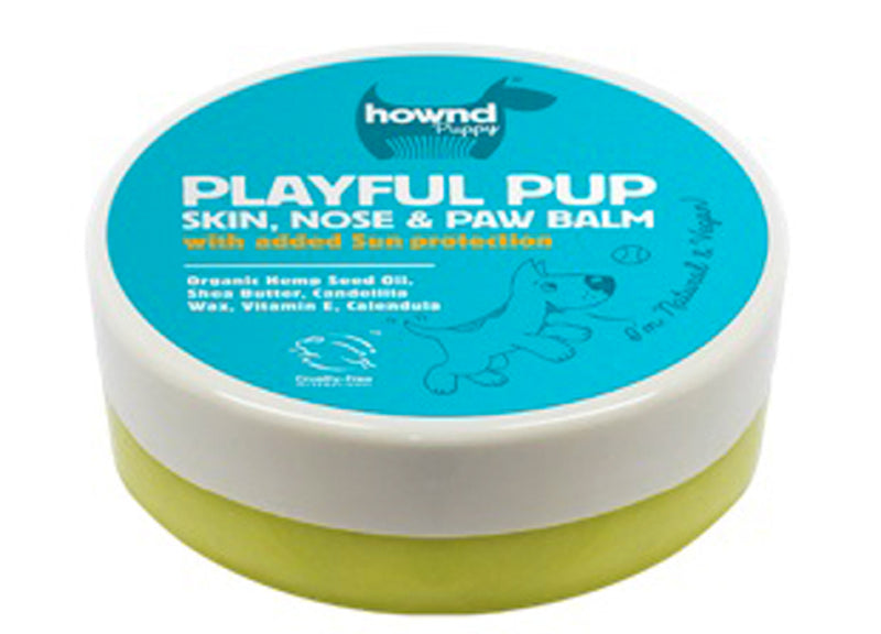 Hownd Playful Pup Skin,Nose & Paw Balm With Sun Screen 50g