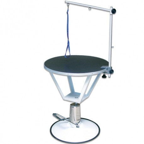 GROOMING TABLE HYDRAULIC ROUND FOOT DIAM. 70cm