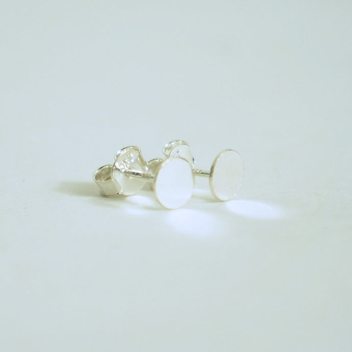 Sterling Silver Simple Studs Earrings