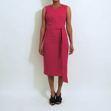Load image into Gallery viewer, Hot Pink Cotton Skirt