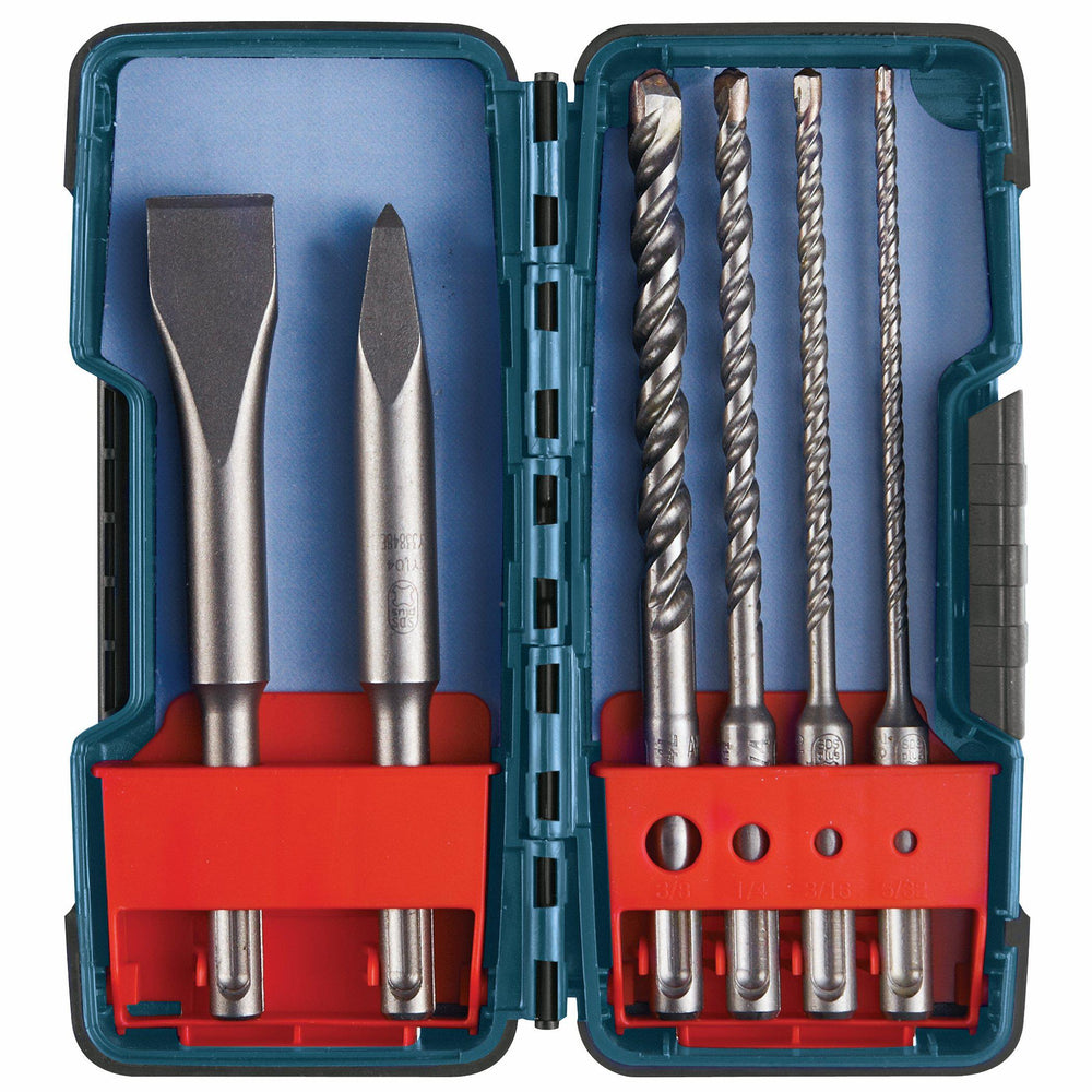 BOSCH	6 pc. SDS-plus® Bulldog™ Rotary Hammer Bit Set	HCST006