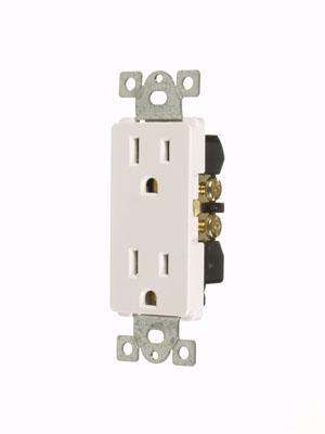 Decora Duplex Receptacles