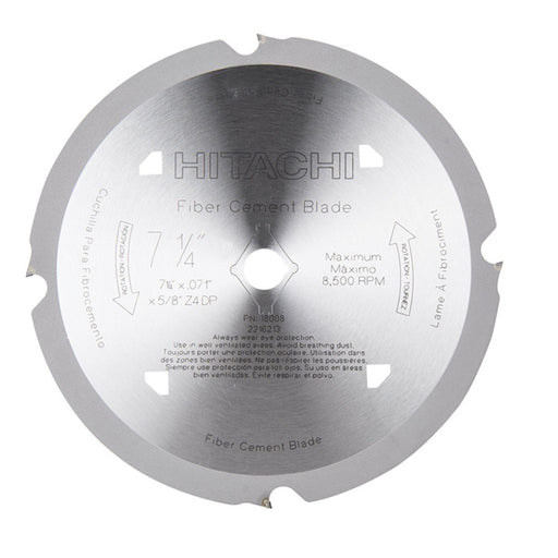 Hitachi 18008 7 1/4-in 4-Tooth HardiBlade™ Circular Saw Blade
