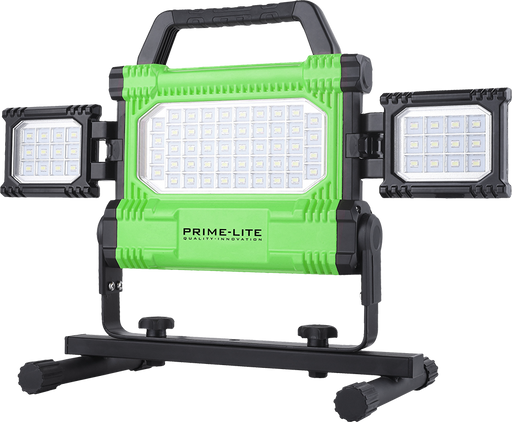 PRIME-LITE Triple Panel Floodlight & Base Stand [24-614]