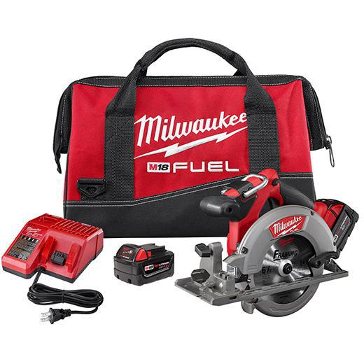 "Milwaukee - M18 FUEL™ 6-1/2"" Circular Saw Kit 2730-22"