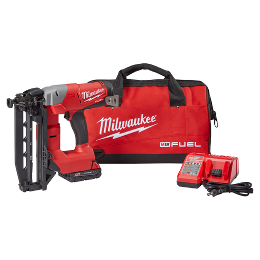 Milwaukee - 2741-21CT M18 FUEL™ 16ga Straight Finish Nailer Kit