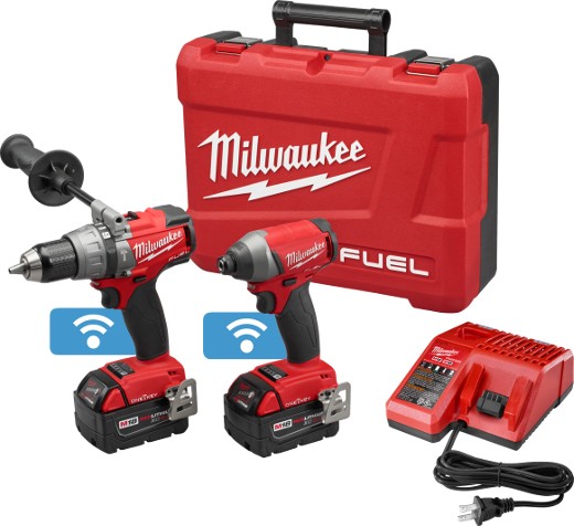 Milwaukee - M18 FUEL™ 2-Tool Combo Kit with ONE-KEY™