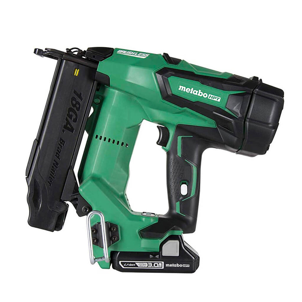 "METABO 2"" 18V Brushless Lithium Ion 18Ga Brad Nailer [NT1850DE]"