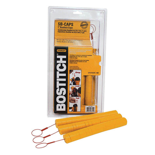 BOSTITCH SB Caps Stapler Kit 1000pc [CAPPAK-5M]