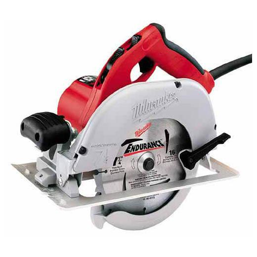 "Milwaukee - 6391-21 7-1/4"" Left Blade Circular Saw with Case"