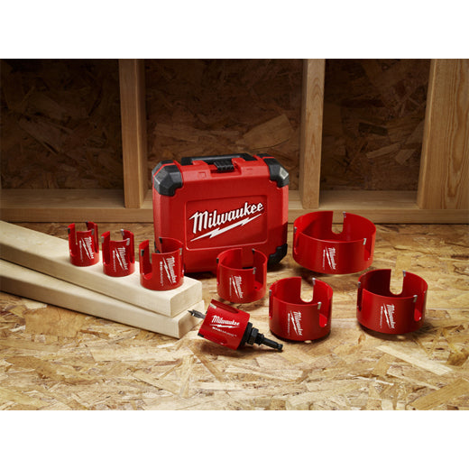 Milwaukee 49-56-9010 2-9/16-Inch Big Hawg Hole Cutter
