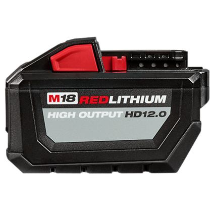Milwaukee M18 REDLITHIUM™ HIGH OUTPUT™ HD12.0 Battery Pack [48-11-1812]