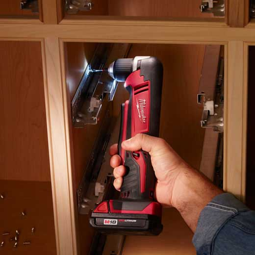 Milwaukee 2615-21 M18™ Cordless Lithium-Ion Right Angle Drill