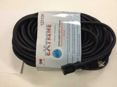 123100 EXTREME EXTENSION CORD