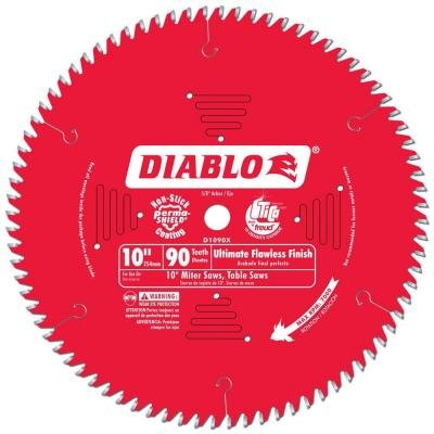 "DIABLO 10"" 90 TEETH"