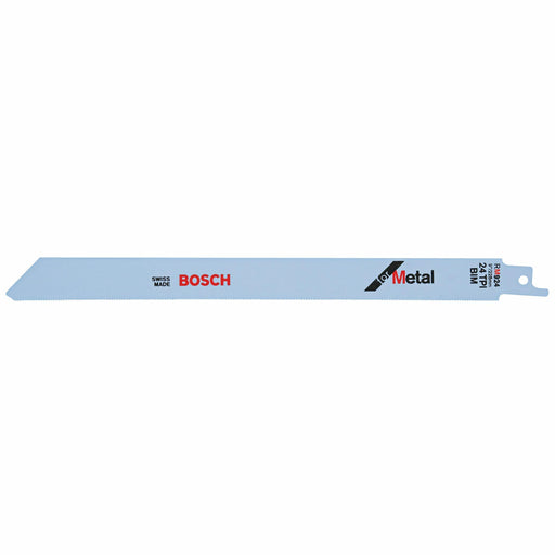 BOSCH	5 pc. 9 In. 24 TPI Metal Reciprocating Saw Blade	RM924