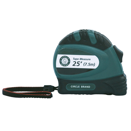 CIRCLE BRAND 25′ Measuring Tape [CB38076]