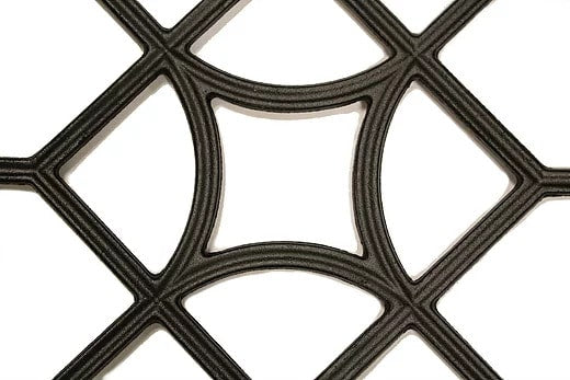 Nuvo Iron Square Decorative Gate Fence Insert ACW54 - 15 in x 15 in