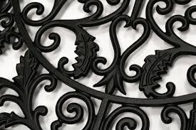 Nuvo Iron Cast Aluminum Rectangle Decorative Gate Fence Insert ACW61 - 15 in x 24 in