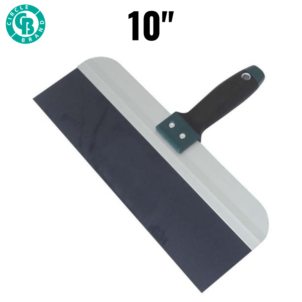 "CIRCLE BRAND 10"" Taping Knife Blue Steel [CB14067]"