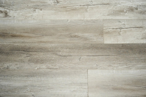 Aquaplus Vinyl Plank - Brushed Nickel - 4mm - 7mm (price per sq.ft)
