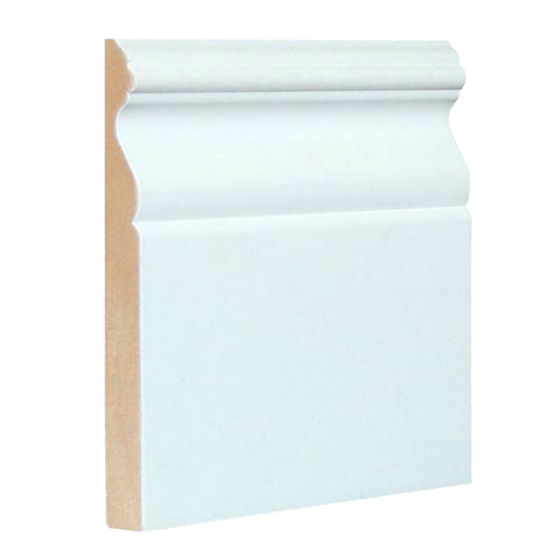 "Colonial Baseboard MDF 3/8"" x 3-7/8"" x 12' (Price per ft)"