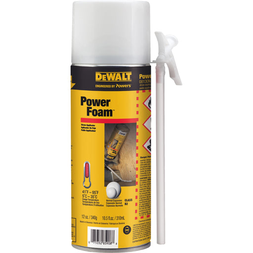 DEWALT PowerFoam™ 12 oz Expanding Polyurethane Foam [08130N]