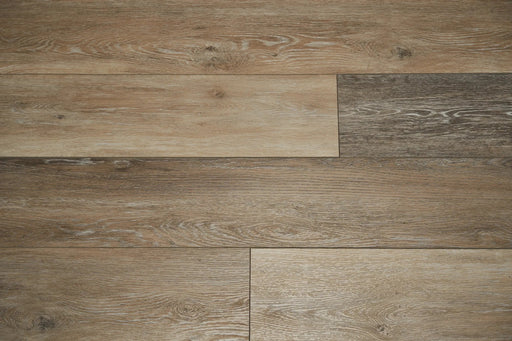 Aquaplus Vinyl Plank - Distressed Beige - 4mm - 7mm (price per sq.ft)