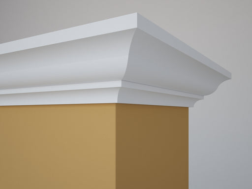 "Georgian Crown Molding MDF 5/8"" x 4-1/8"" x 14' (Price per ft)"