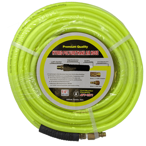 Hybrid Polyurethane Air Hose 100ft
