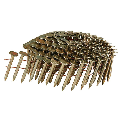 "1-1/2"" Roofing Coil Nails (7,200 pc/box)"