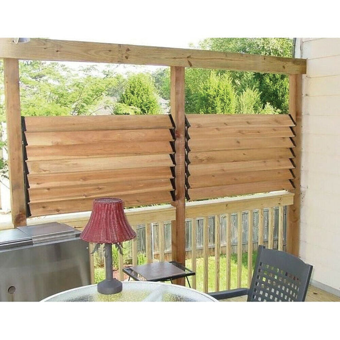 Nuvo Iron Louver Blinds & Shutter System - Hardware Kit  - LSB48