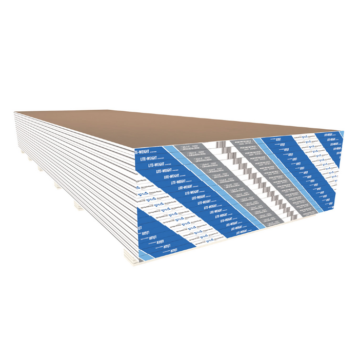 ToughRock® Lite-Weight Gypsum Board - 4' x 10' x 1/2''