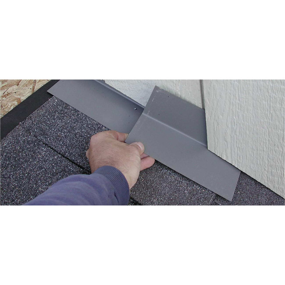 "Metal Roof Step Flashing 4"" x 4"" x 8"" Brown"