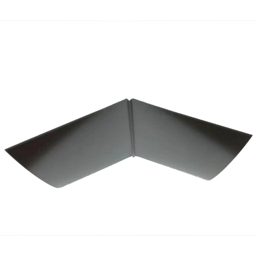 Roof Metal Valley 26 Gauge - 2 x 8 - With Profile - Black