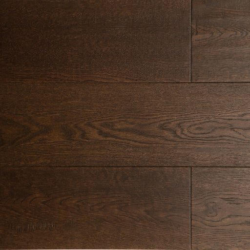 "Engineered Wood Flooring - 6"" Oak Black Brown (price per sq.ft)"
